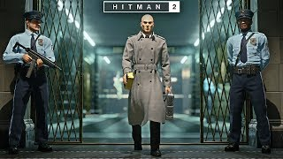 HITMAN™ 2 | Master Difficulty - Break The Bank Vault New York