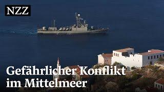 Warum sich Griechenland und die Türkei im Mittelmeer streiten | NZZ
