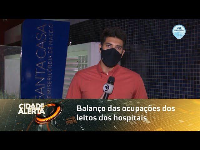 Balanço das ocupações dos leitos dos hospitais particulares e públicos