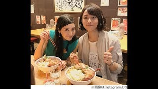 女優の木村文乃(29歳)が6月3日、自身のInstagramで、菜々緒(28歳)と...