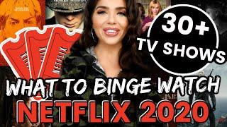 NETFLIX RECOMMENDATIONS 2020 | 30+Netflix TV Shows To Binge Watch | Netflix Review | BEST of Netflix