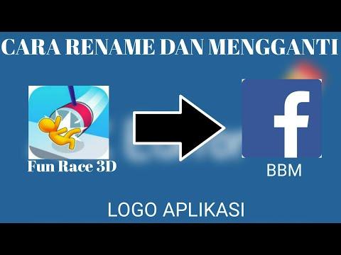 Cara Merubah Nama Dan Logo Aplikasi Terbaru 2019!!!!