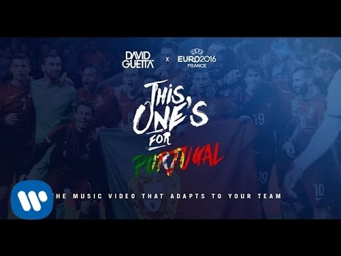 David Guetta ft. Zara Larsson - This One's For You Portugal (UEFA EURO 2016™ Official Song)