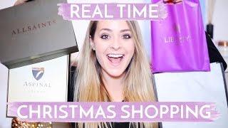 Real-Time CHRISTMAS SHOPPING Haul! Fleur De Force