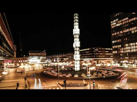 Stockholm by night!