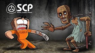 Minecraft - SCP 106 THE OLD MAN! (SCP CONTAINMENT BREACH)