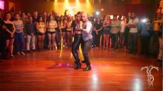 ATACA & LA ALEMANA Bachata Dance Performance At THE SALSA ROOM