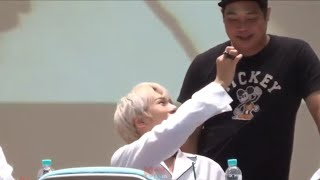 kpop idols cute interactions with manager and staff (part 1)