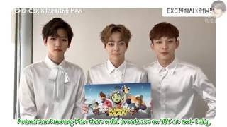 [ENG] 170617 [RUNNING MAN X EXO] Opening Theme Song by EXO-CBX [mr.virtue]