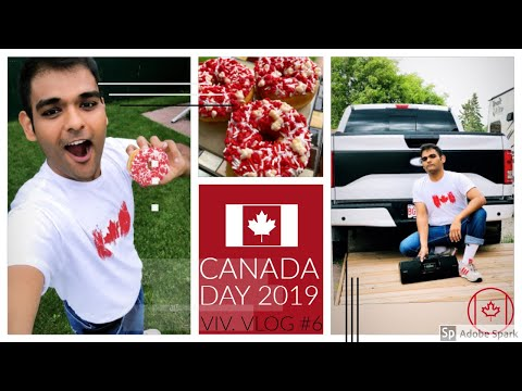 Canada day | Basic chilling | Viv.Vlog #6