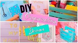 DIY: Room Organization&Decor Ideas/Организация и Декор на русском|Fosssaaa