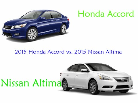 2015 honda accord vs 2015 nissan altima the truth. Black Bedroom Furniture Sets. Home Design Ideas