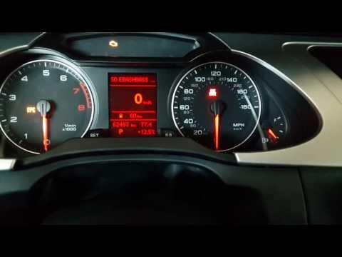 Адаптация БК в Audi A4 B8