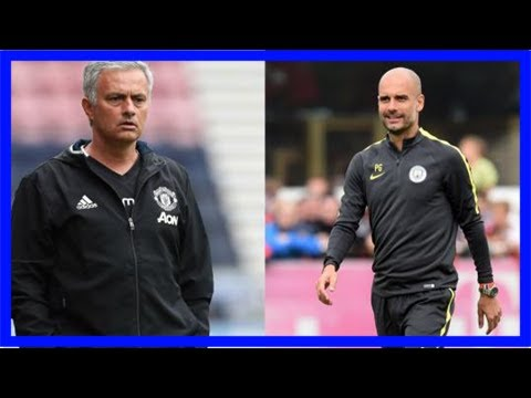 Pep personally calls mourinho to enquire about man utd star