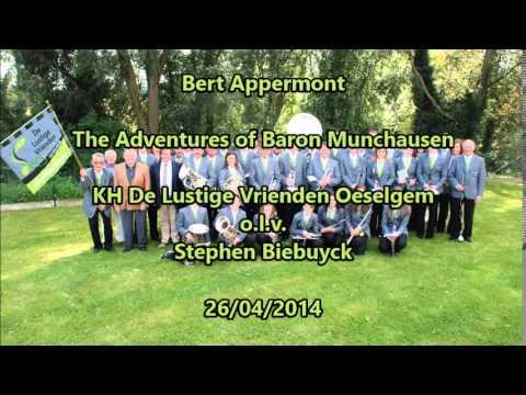 Bert Appermont - The Adventures of Baron Munchausen - KH De Lustige Vrienden Oeselgem
