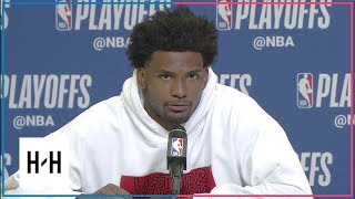 Justise Winslow Postgame Interview | Sixers vs Heat - Game 3 | April 19, 2018 | 2018 NBA Playoffs