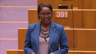 Monica Semedo 17 Jun 2020 plenary speech on Anti racism protests following George Floyd death