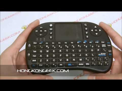 Безжична клавиатура RII 8 MINI за таблети, телевизионни кутии, конзоли и други 14