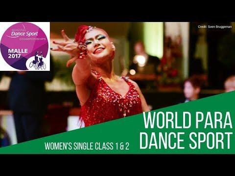 Women's Single Class 2 Semi-Final | Malle 2017 | World Para Dance Sport