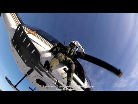 Helicopter Rescue Team - January 14 Search and Rescue Training