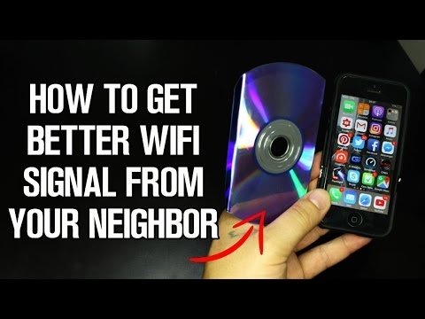 How To Get Better Wifi Signal from Your Neighbor - LifeHack