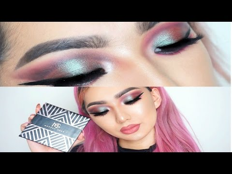 Fishnet makeup
