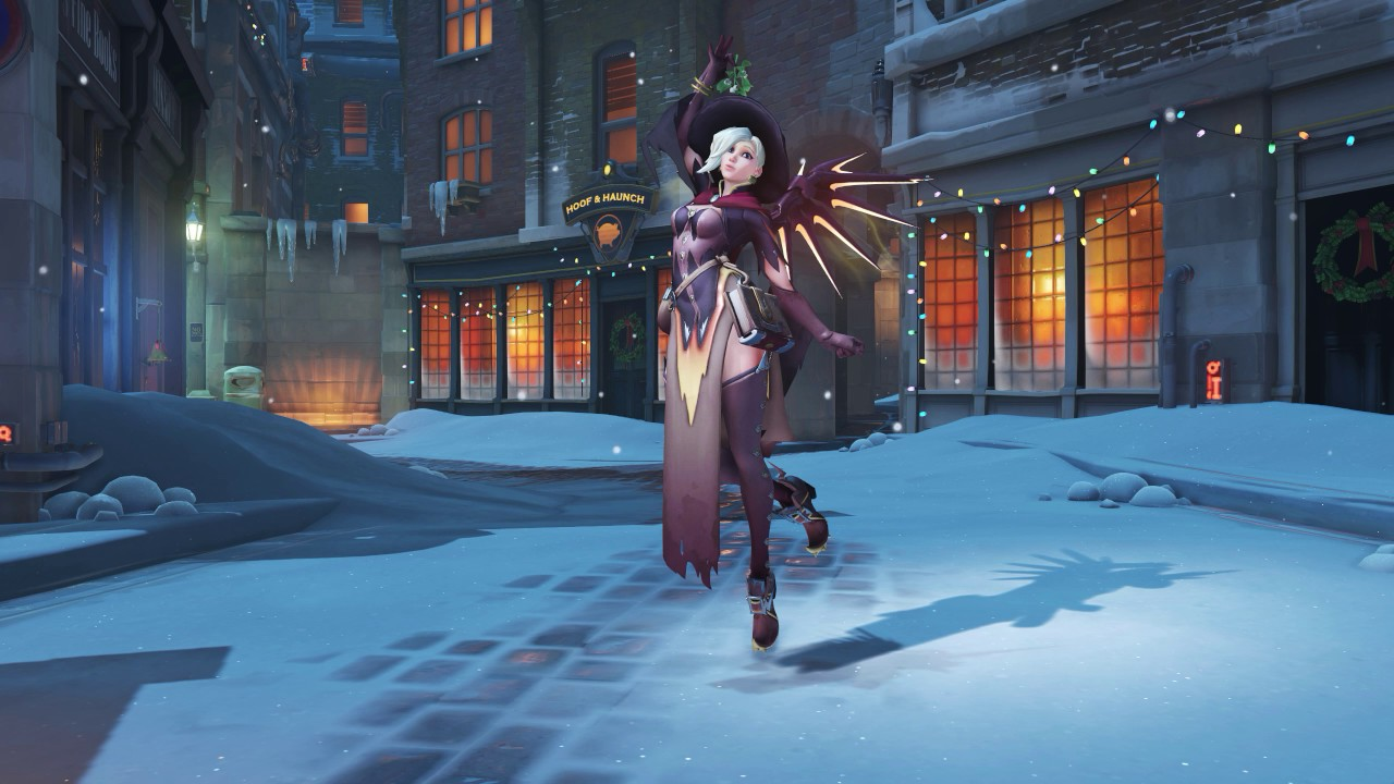 Overwatch christmas animated wallpaper mercy 1440 - Overwatch christmas wallpaper ...