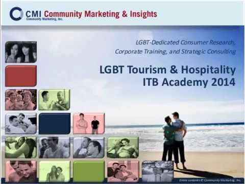 ITB Academy Webinar: Gay & Lesbian Tourism - Latest in research, best practices and case studies