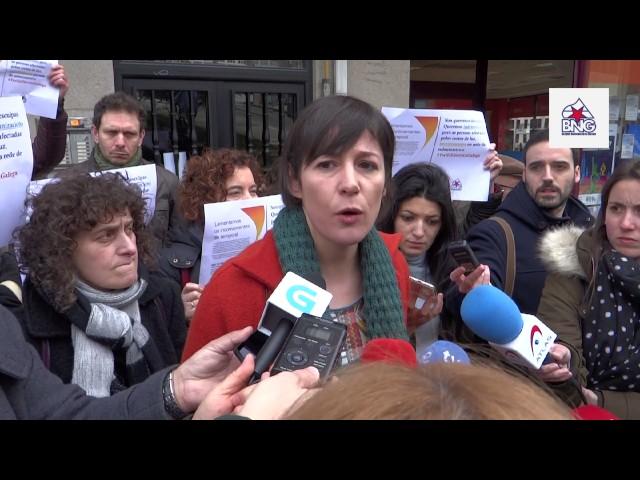 """Ana Pontón: """"Ten que haber sancións exemplares ás eléctricas por parte da Xunta"""""""