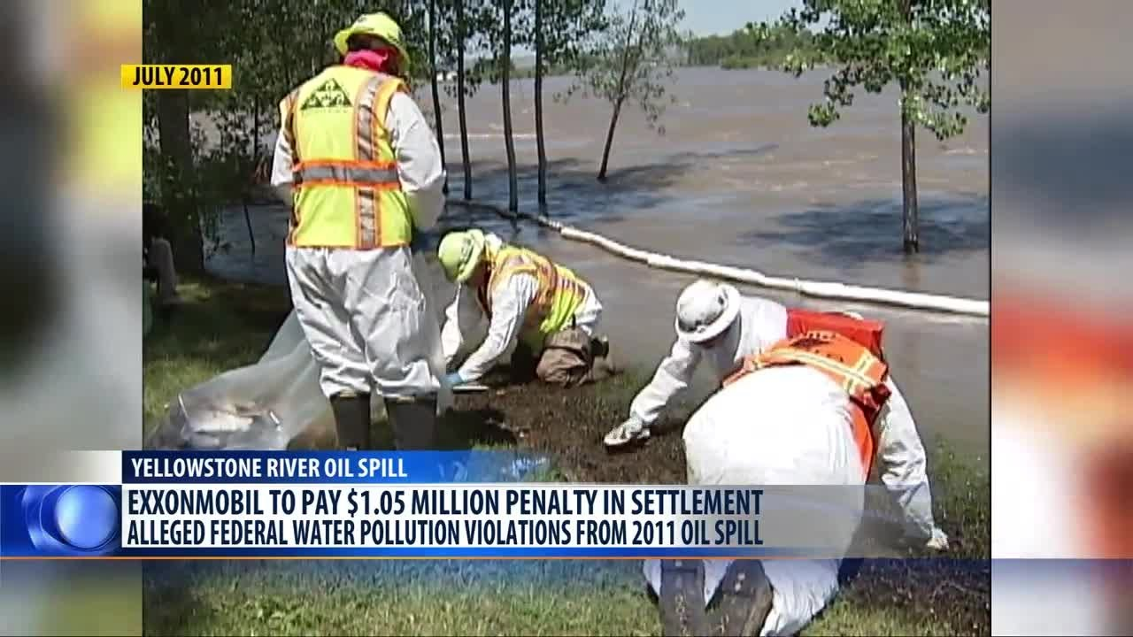 ExxonMobil pays $1 05M for 2011 oil spill in Yellowstone River