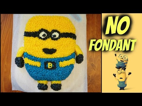 Easy Minion Cake Despicable Me 2 How To YouTube
