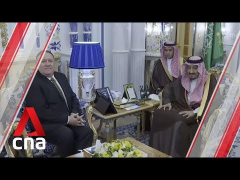 US Secretary of State Mike Pompeo in Saudi Arabia for crisis talks on Iran