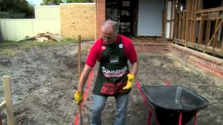 How To Make A Concrete Footing - Diy At Bunnings