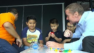 LEGO-based therapy for kids living with autism