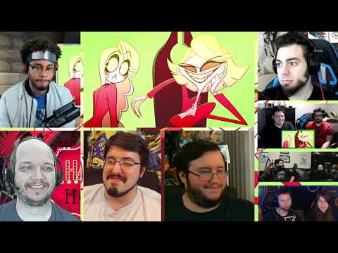 HAZBIN HOTEL (PILOT) [REACTION MASH-UP]#468