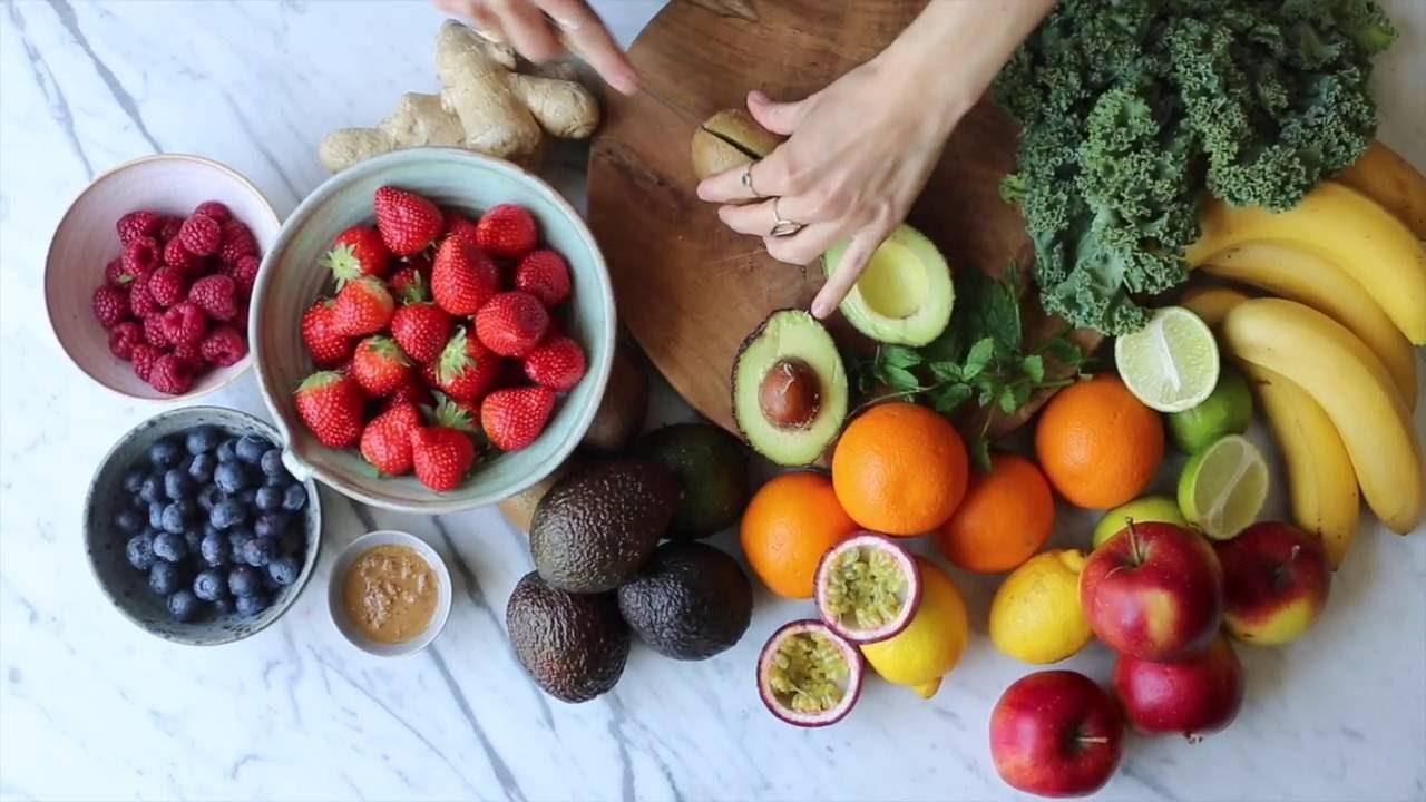 Buchtrailer: Die Grüne Küche - Smoothies & Co. - YouTube