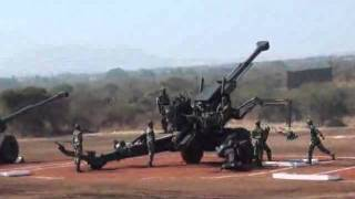 Indian Army Artillery Demonstration