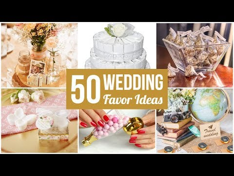 50 Best Wedding Favor Ideas -- Your Guests Will Love Them!