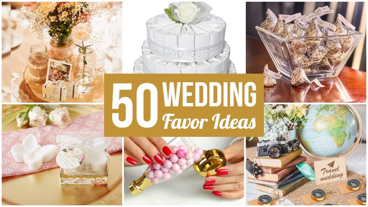 50 Best Wedding Favor Ideas -- Your Guests Will Love Them