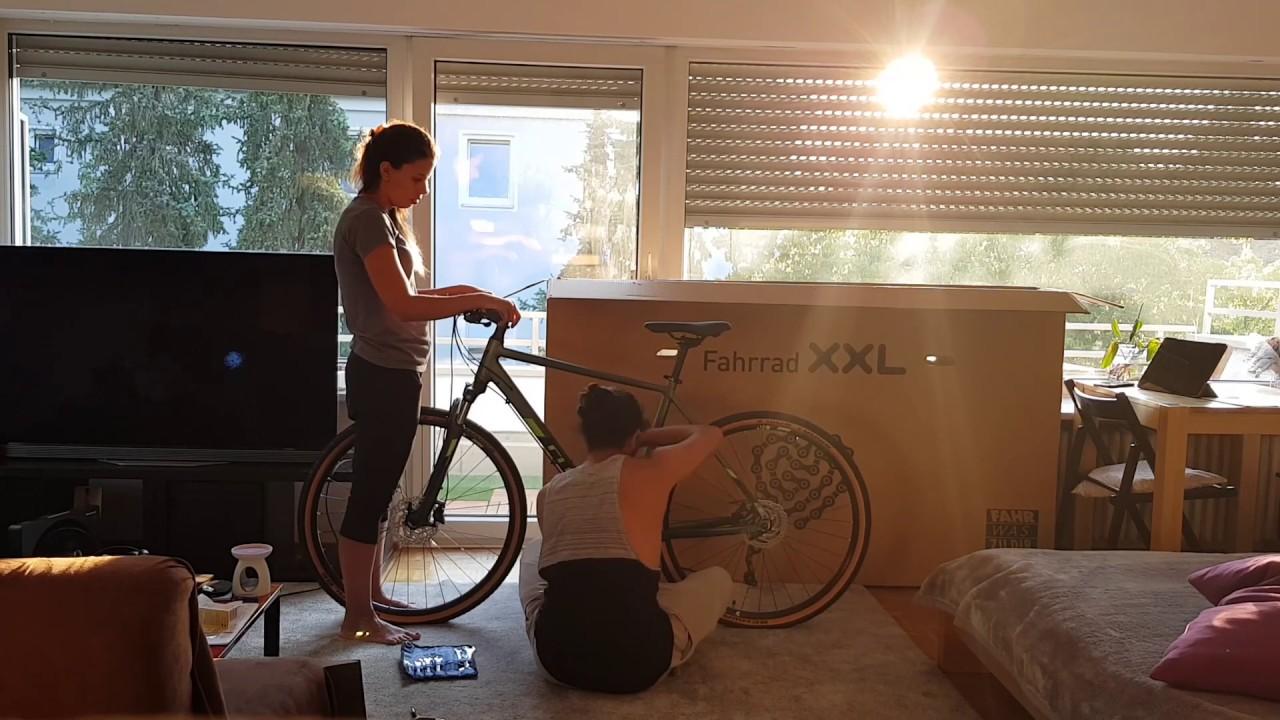Bicycle Xxl Unboxing Cube Nature Exc Herren 2019 Youtube