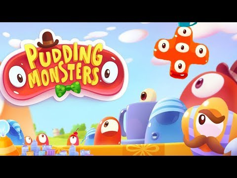 Pudding Monsters for Android, iPad, iPhone. Grow up and become a super mega monster.