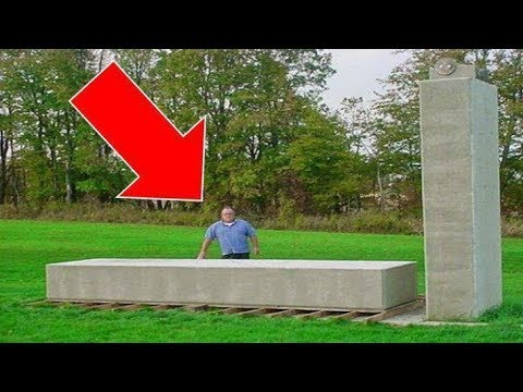 AMAZING VIDEO: Man Lifts 20 Ton Block By Hand