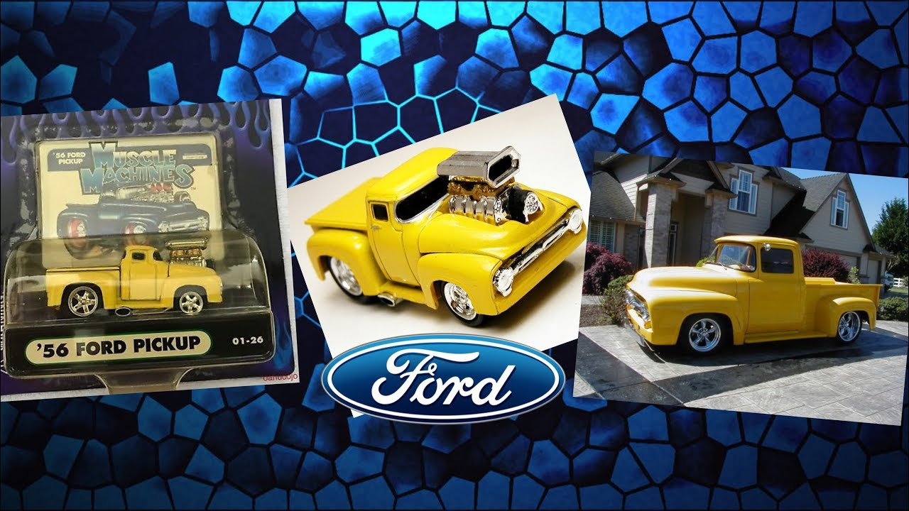 Diecast Direct muscle machines ford pickup truck review