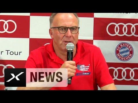 Karl-Heinz Rummenigge: Uli Hoeneß würde Luftsprünge machen   FC Bayern München