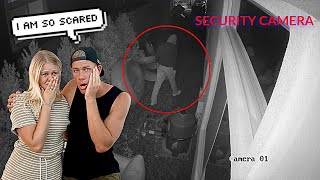 SOMEONE BROKE INTO OUR HOUSE...