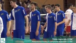 06-04-2017: #fipavpuglia - Materdominivolley.it Castellana Grotte campione regionale U19M