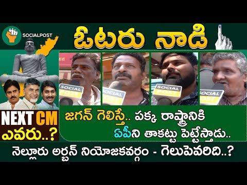 Nellore Urban Public Talk | Narayana | AnilKumar yadav | Ap Elections 2019 | VOTERNAADI | Socialpost