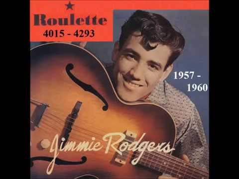 Jimmie Rodgers - Roulette 45 RPM Records - 1957 - 1960