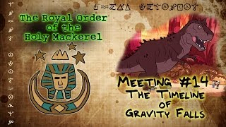 THE TIMELINE OF GRAVITY FALLS: The Royal Order of the Holy Mackerel