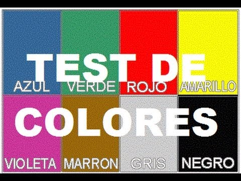 COLOR TEST THAT APPLY IN THE BUSINESS SECRETS REVEALED